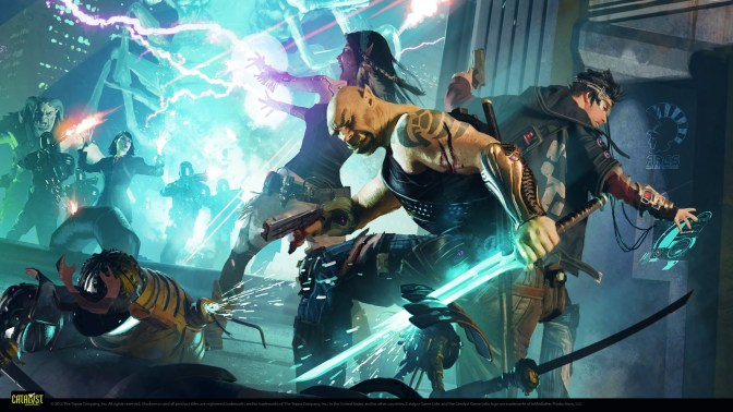 Meet the Party: Shadowrun Fifth Edition