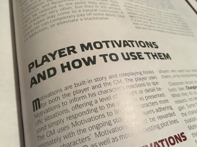 Level One Wonk: Player Motivations