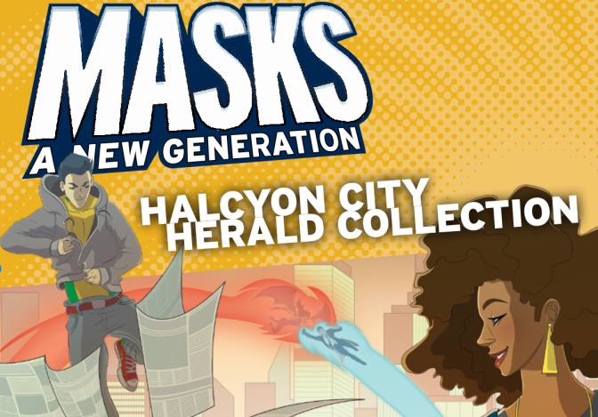 The Independents: Masks: Halcyon City Herald Collection