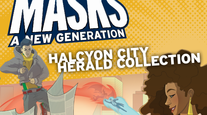 Masks: Halcyon City Herald Collection Review