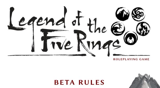 Legend of the Five Rings Beta Review