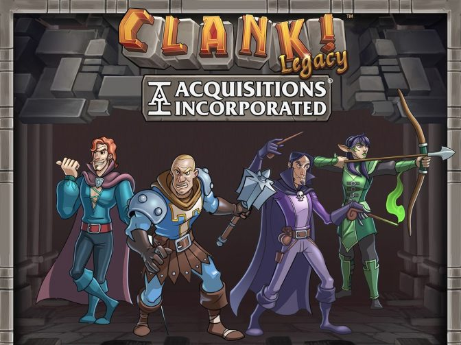 A Glimpse Into PAX East: Clank! Legacy Acquisitions Inc. Upper Management Pack
