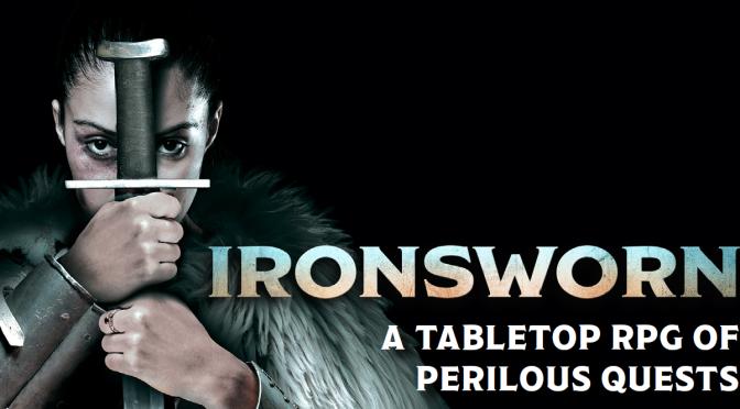 Bargain Bin Gaming: Ironsworn (ENnie Gold Winner!)