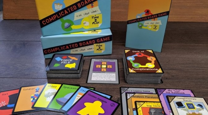 Complicated Board Game the Card Game: Time 2 Play – Kickstarter Review