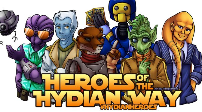 Soldiers, Scoundrels, and Lost Acolytes: Why You Should Listen To Heroes of the Hydian Way